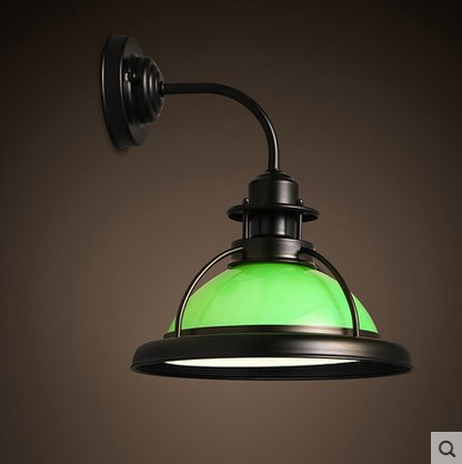 Loft Industrial Edison Style Retro Vintage Wall Lamp With Glass Shade Wall Sconce,Lamparas De Pared