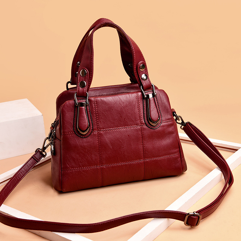 Quality PU Leather Tote Bag Women Shoulder Bags Women Handbags 2018 Luxury Handbags Women Bags Designer High Quality Sac A MAIN high quality pu leather metal buckle luxury handbags women bags designer small women shoulder over bags bolsos de mano female