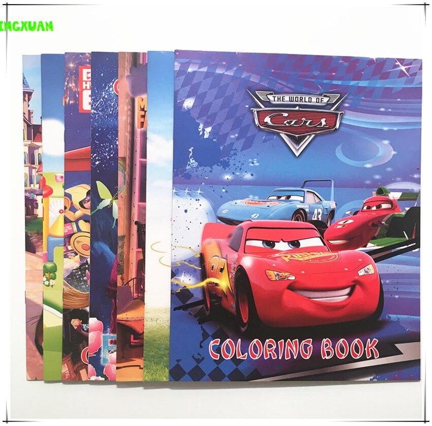 happyxuan 5 bookspack kids cars tomas wild animals coloring book boys classic toys cartoon