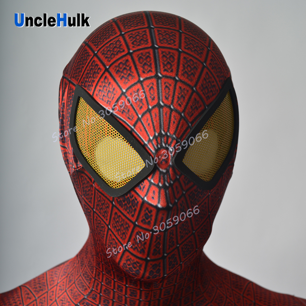 Spiderman Hood and Unattached Lenses | UncleHulk