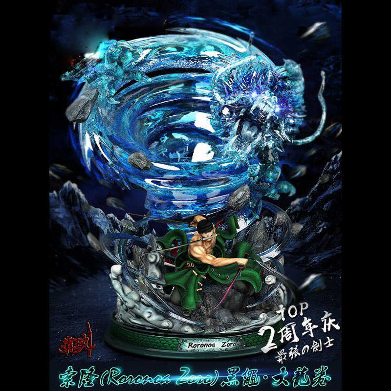 Cool ONE PIECE Statue The Straw Hat Pirates Bust Bartolomeo Full-Length Portrait Roronoa Zoro GK Action Figure Toy statue