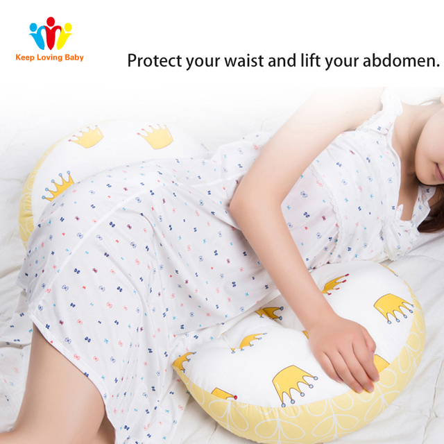 Pillow for pregnant women U Type Belly Support Side Sleepers Pregnancy  Protect Waist Sleep Pillow  3