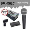 5 шт. оптовая Высокое качество SM 58LC Бесплатная доставка вокальный Караоке микрофон динамический проводной ручной микрофон SM 58