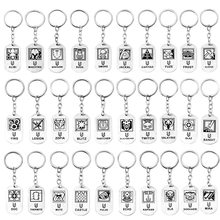 2019 Avengers: Infinity War Keyring Products The avengers alliance A Sign Keychain Pendant Gifts For Car Key Ring(China)