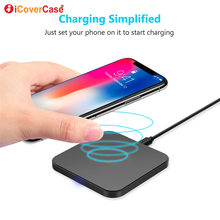 Qi Wireless Fast Charger Pad Fo LG V35 V30S ThinQ V30 Smartphone Case Charging Mobile Phone Accessories Charging Pad universal(China)