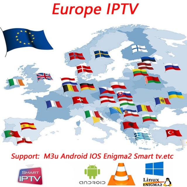Mejor estable 4000 Live + VOD España IPTV suscripción herobox H9MAX + RK3328 4 GB/32 GB reproductor de red android 8,1 caja de TV