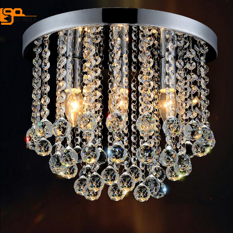 luxury design crystal ceiling lamp modern plafondlamp lustre ceiling lights for living room bedroom noosion modern led ceiling lamp for bedroom room black and white color with crystal plafon techo iluminacion lustre de plafond