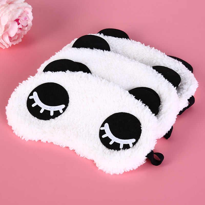1 шт. симпатичная маска для сна с пандой, для глаз, для путешествий, повязка для глаз, повязка для глаз, для здоровья, Прямая доставка, оптовая продажа