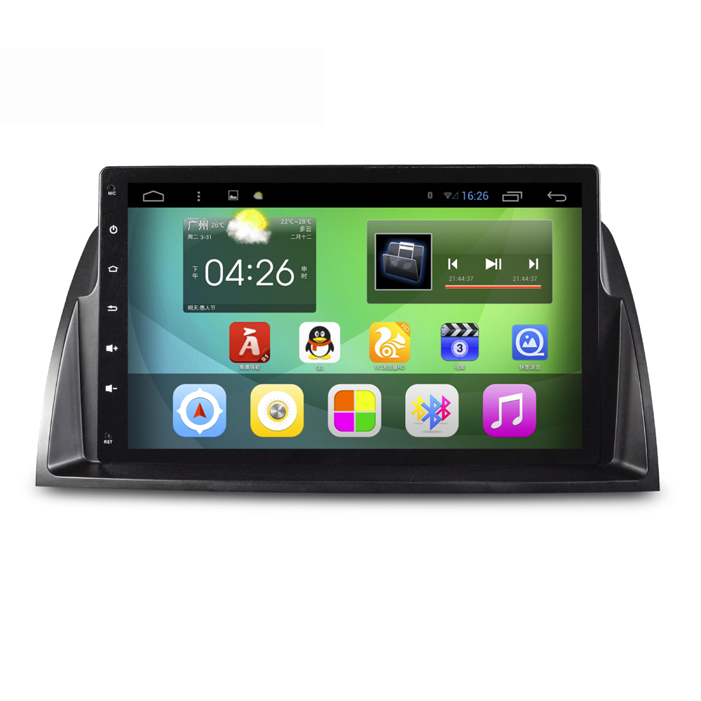 9 Inch Screen Android 4.4 Car Navigation GPS System Stereo