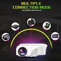 S320 1800 Lúmenes Mini Pico Proyector LED HDMI USB VGA AV LCD PC de Cine En Casa Cine Proyector Proyector Multimedia HD 1080 P