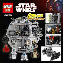 New LEPIN 05035 3804Pcs Star Wars Death Star II Model Building Kits Minifigure Blocks Bricks Children Toys Gift 10188 LEGOe