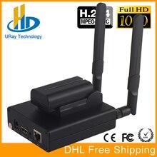 DHL Frete Grátis MPEG-4 AVC/H.264 WIFI HDMI Codificador Codificador De Vídeo HDMI Transmissor Transmissão Ao Vivo Sem Fio H264 IPTV Codificador