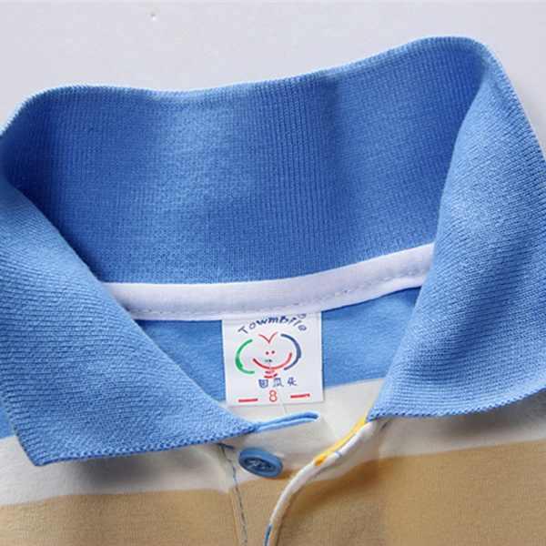 ... Baby Boy T-shirt Short Sleeve Striped Summer Tops Clothes Cotton Soft  For Children 1 ... a423614a9a0