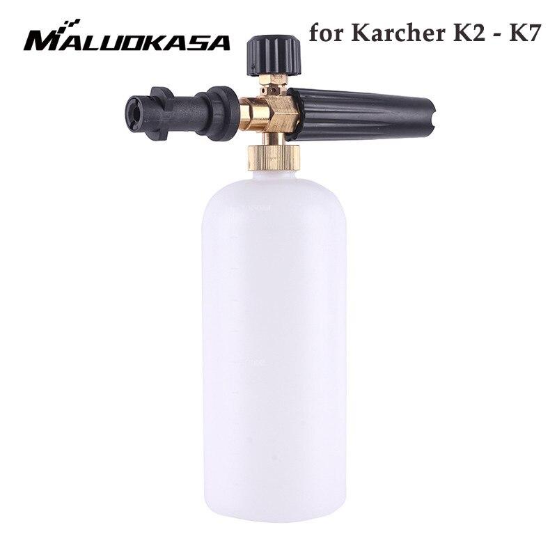 High Pressure 1L Soap Foam Generator Foamer Sprayer Car Foam Gun Weapon Snow Foam Lance for Karcher K2 K3 K4 K5 K6 K7 Car Washer