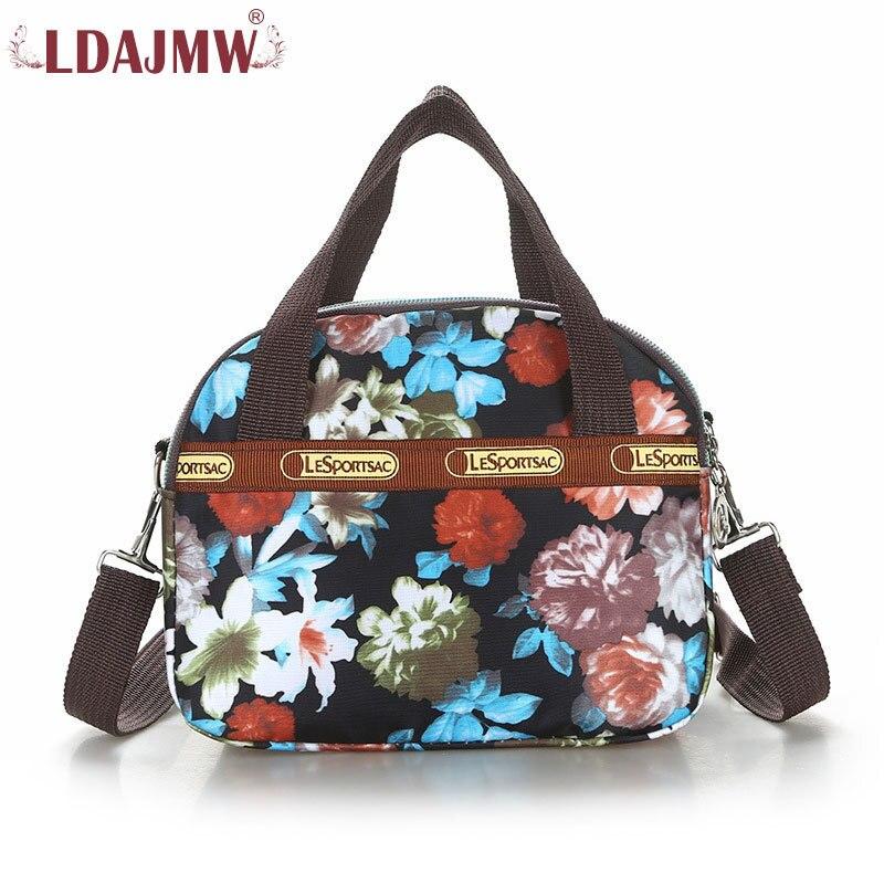 Summer Leisure fashion Messenger bag Waterproof Nylon Maam Printing Can Dismantle Straps Womens Single Shoulder bags Handbag