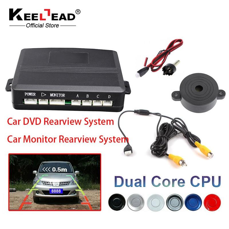 imágenes para Video Sensor De Aparcamiento Radar de Reserva Reverso Asistencia, Auto estacionamiento Monitor de Pantalla Digital y Step-up de Alarma de radar de Vídeo