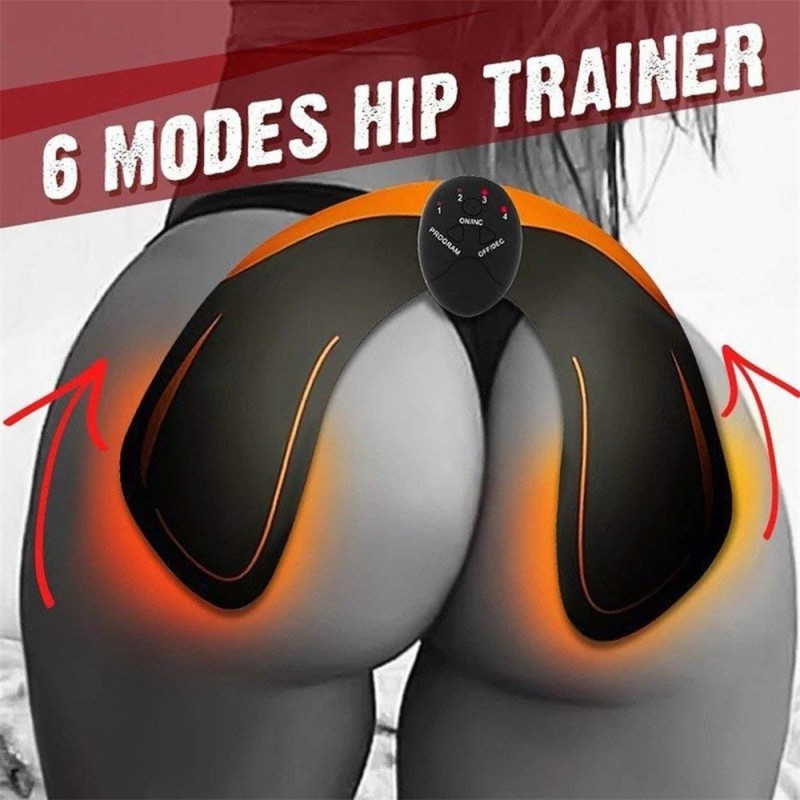 Effective Stimulator Smart Fitness Hip Training Device Electric Weight Loss Stickers Body Slimming Beauty Tool