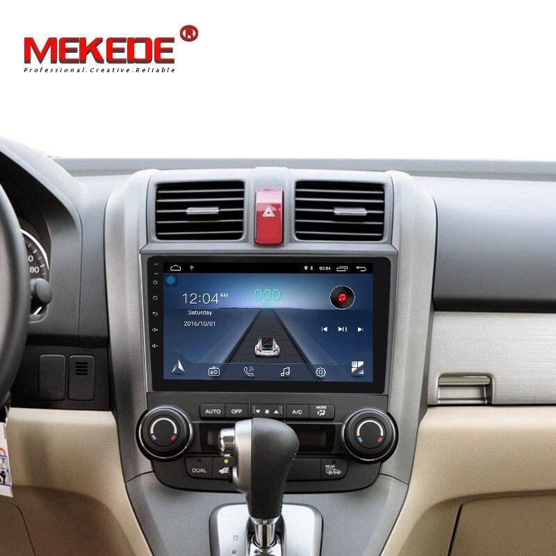 Big sale! Para Honda CRV CR-V 2007-2011 quad core android8.1 sistema gps do carro dvd player suporte rádio BT wifi exibição livre o navio!