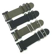 For Suunto Core Traverse  Watch Band Strap Nylon Zulu Watchband 24MM  +1 set  Adapters +Tools