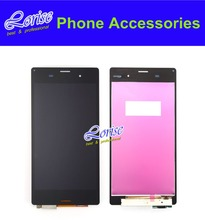 Original 1PC For Sony xperia z3 D6603 D6643 D6653 L55t LCD Display Touch Screen With Digitizer Assembly Black Free shipping