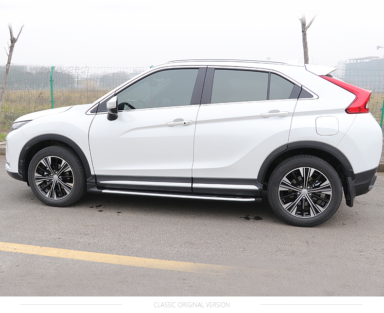 Match for Mitsubishi Eclipse Cross 2018-2019 foot board side bar running board pedals.thicken aluminum alloy.Asia free shipping.