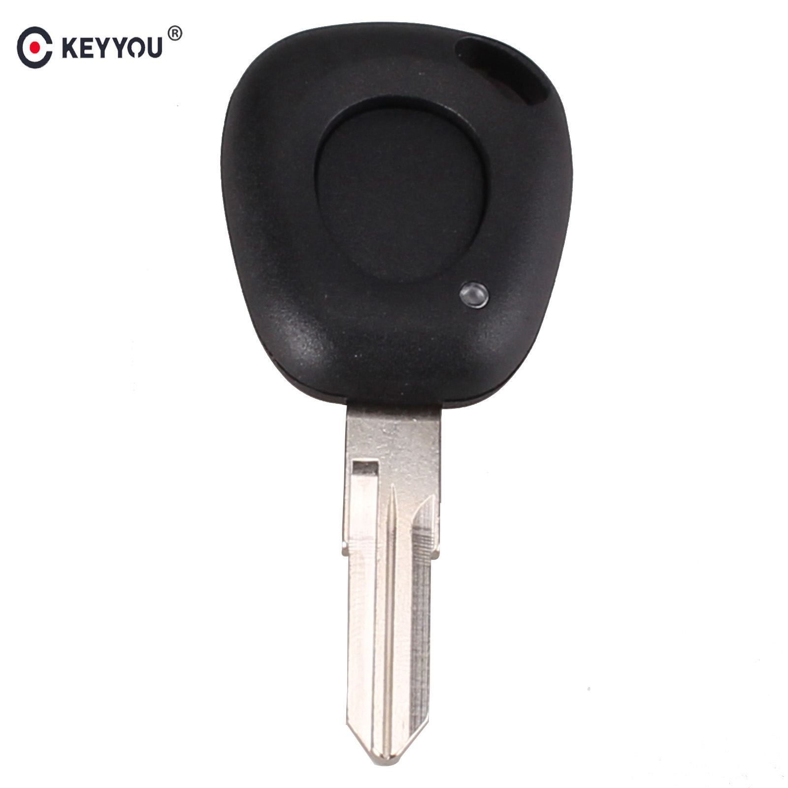 KEYYOU Replacement 1 Button Key Fob Remote Shell Case Uncut Blade For Renault Espace Twingo Clio Free shipping jingyuqin new 1 button uncut blade remote car key shell for renault twingo clio kangoo master no chip keyless entry fob case page 2