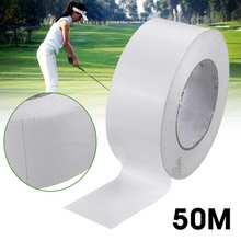 1 рулон 50 м профессиональные рукоятки для гольфа, двухсторонняя клейкая лента для клюшек/клиновидных лент, Премиум легко снимающиеся аксессуары для гольфа