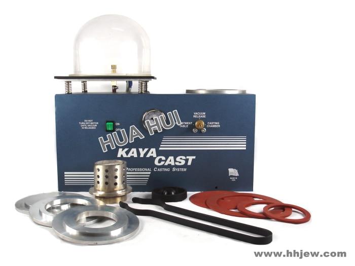Machine de coulée sous vide de bijoux, machine de coulée de Vesting de KAYA, Mini machine de moulage de bijoux de KAYA