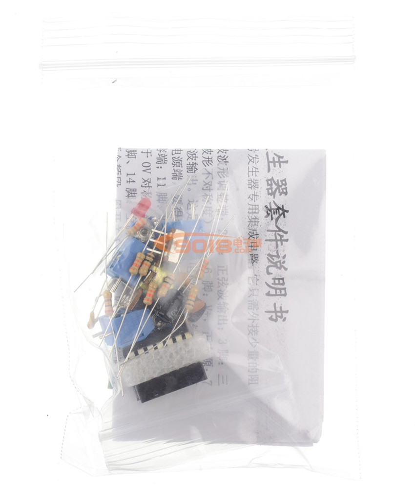 Icl8038 Function Signal Generator Circuit Kit Sine Wave Triangle Working Of Fang Bo Parts Diy In Integrated Circuits From Electronic