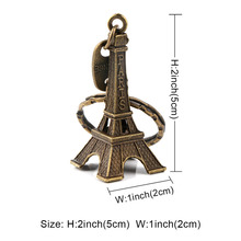20pcs/lot Wedding Gift: Alloy Paris Eiffel Tower Figurine