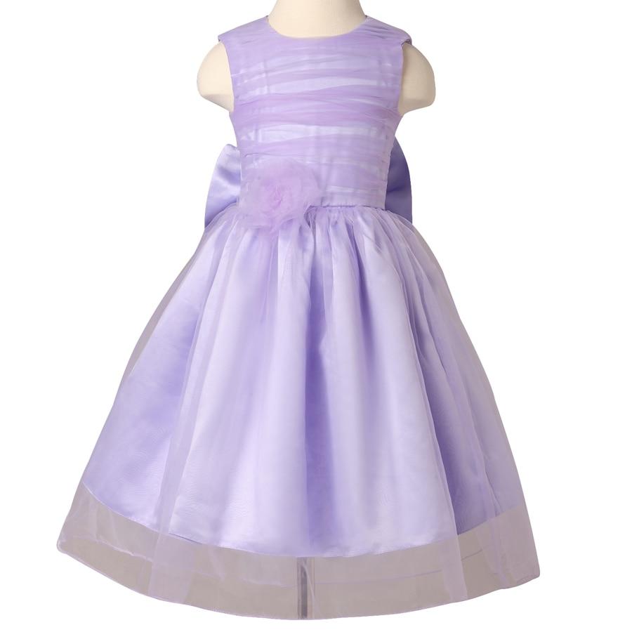 Cheap Lavender Flower Girl Dresses - Discount Wedding Dresses