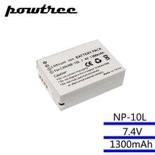 7,4 В 1300 мАч NB-10L NB10L NB 10L батареи пакет для Canon G1X G15 G16 sx40hs sx50hs sx60hs SX40 SX50 SX60 HS Bateria