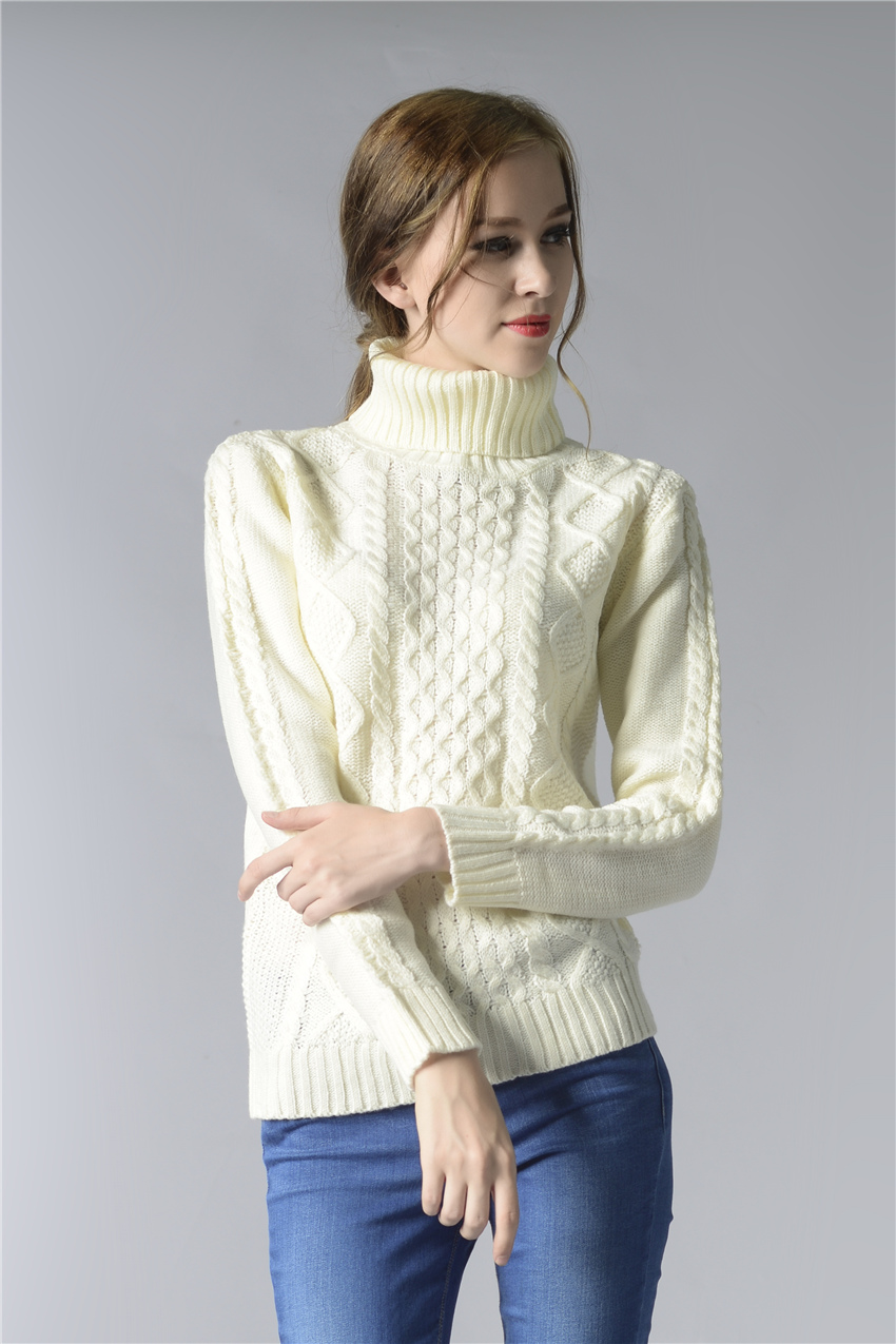 HTB1FJoiSpXXXXXbXVXXq6xXFXXXQ - FREE SHIPPING ! Sweater Long Sleeve Turtleneck JKP196