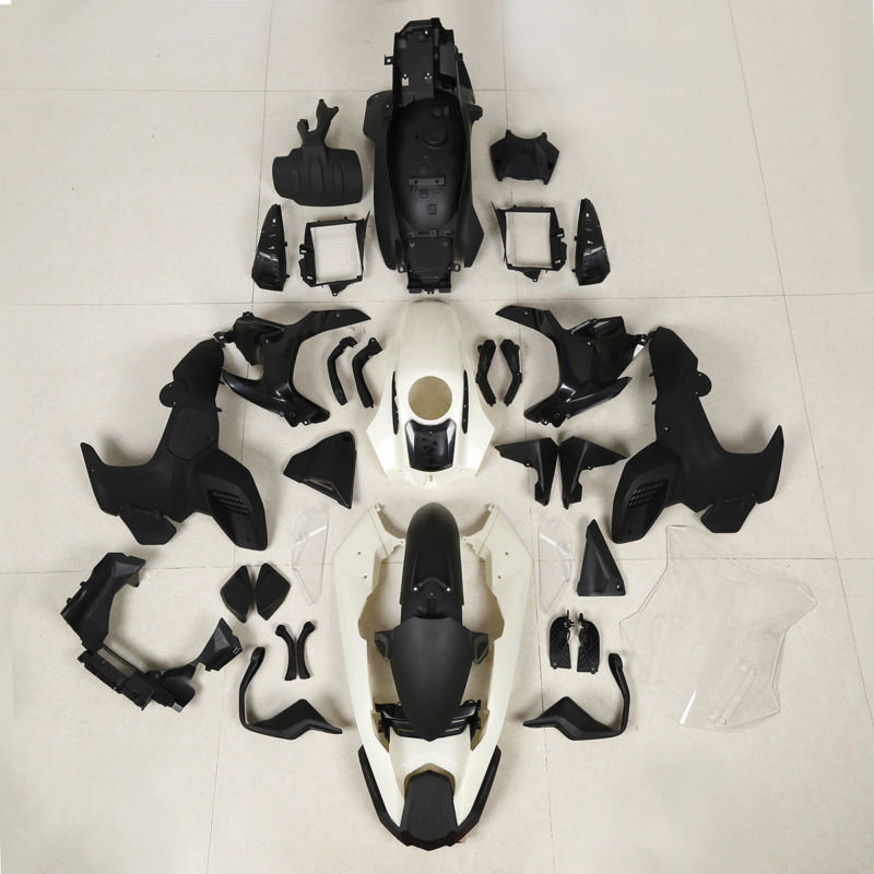 Unfinished Injection ABS Fairing Bodywork Kit For BMW K51 R1200GS Adventure ADV 2012-2018 unpainted white injection molding bodywork fairing for honda vfr 1200 2012 [ck1051]