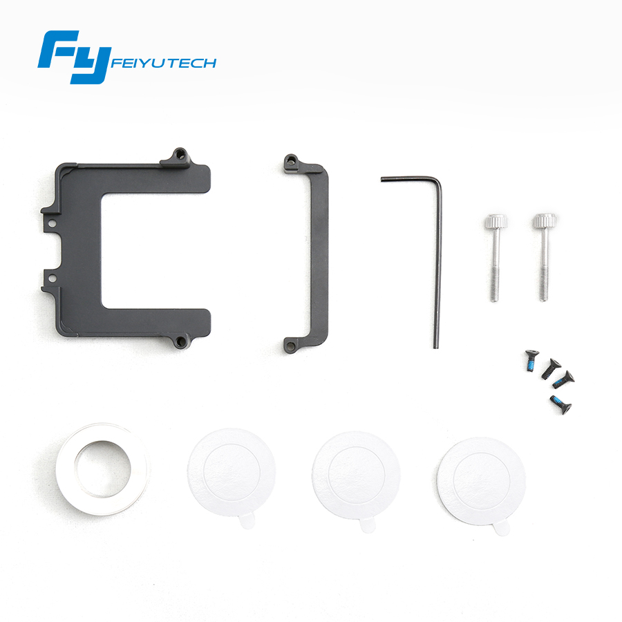 FeiyuTech WG mount for compatible with Gopro Hero5 camera Accessories WG gimbal gopro 5 mount