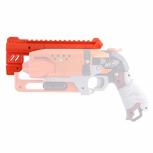 Maliang 3D Printing Modified HS-04 Front Tube and Top Rail Kit for Nerf Zombie Strike Hammershot Blaster
