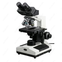 Veterinary Biological Compound Microscope AmScope Supplies Doctor Veterinary Clinic Biological Compound Microscope 40X 1600X