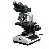 Veterinary Biological Compound Microscope AmScope Supplies Doctor Veterinary Clinic Biological Compound Microscope 40X 1600X
