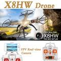 NOVA Syma X8HW FPV Wi-fi Em Tempo Real 2.4G 4ch 6 Eixos com 2MP RC Drones Quadcopter helicóptero com Câmera Wi-fi HD Drones