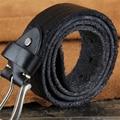 Men Belt Genuine Leather Casual Vintage Buckle Jeans Mens Belt Wide Waist Male Strap Ceinture Homme Cinturones Hombre MBT0423