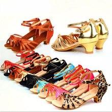 Línea cuadrada de Baile de Salón de Baile Latino Zapatos de Las Mujeres Niñas Salsa del salón de Baile de Salsa Zapatos Baratos Zapatos De Las Mujeres de Tacón Bajo