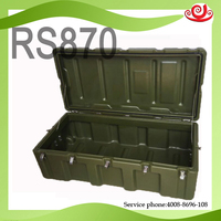 Tricases factory military quality shockproof waterproof IP65 Military equipment box RS870