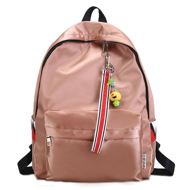 2018 Unisex Waterproof Anti Water Backpack Double Shoulder Bag Zipper Bag Travel Fashion Bag Bolsas Mochilas