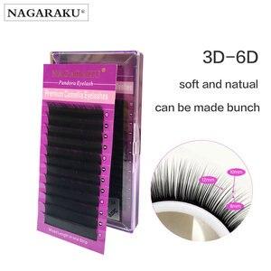 Image 1 - Nagaraku cílios volume cílios extensões camélia cílios pandora cílios maquiagem vison cílios 3d ciios maquiagem cílios