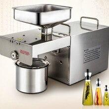 Пресс для отжима масла пресс используется малый и средний автоматический немецкий Электрический нержавеющая сталь арахиса семья для коммерческих Горячий