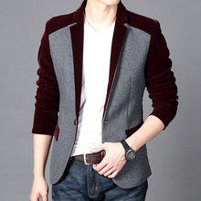 Patchwork blazer men online shopping-the world largest patchwork ...