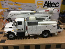 Rare Altec International Aerial Device Utility Truck By First Gear 1/34 DieCast