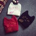 1PC Hot Newest Cat Ear Beanie Hat Cap Women Beanies Bonnet Knitting Wool Cute Pretty Angle of Devil Horns Winter Cap