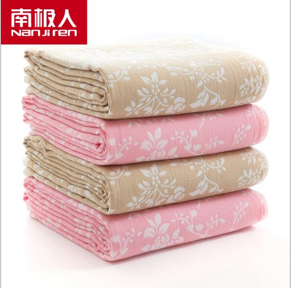ФОТО 150CMX200CM Cotton towel cotton towel blanket blanket summer air-conditioning was blanket