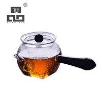 TANGPIN ısıya dayanıklı cam çaydanlık su ısıtıcısı çiçek çayı pot cam çay seti 210 ml